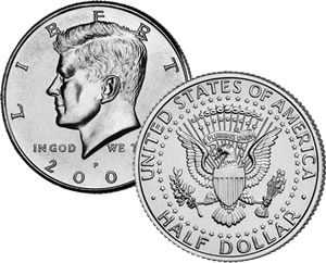 Kennedy Half-Dollar Circulated