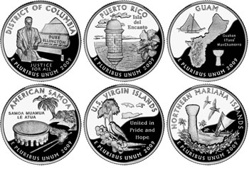 2009 Quarter Images (United States Mint images)