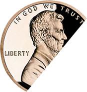 Half Lincoln cent