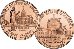 2009 Lincoln Professional Life and Presidency Cents