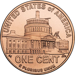 Lincoln Presidency Cent Reverse