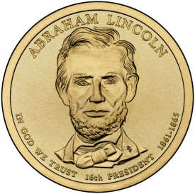 Abraham Lincoln Presidential $1 Dollar Coin