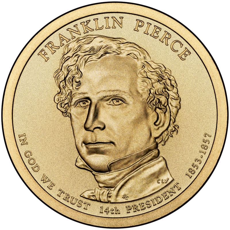Franklin-Pierce-Presidential-1-Dollar-Co