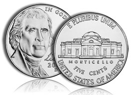 2010-D Jefferson Nickel