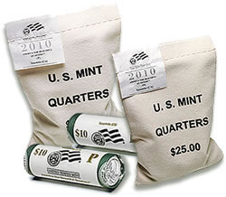 Mt. Hood National Park Quarter Bags and Rolls