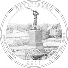 2011 Gettysburg National Park Quarter Design