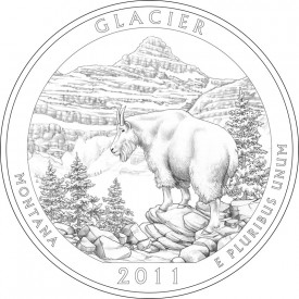2011 Glacier National Park Quarter Design