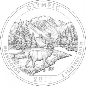 2011 Olympic National Park Quarter Design