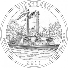 2011 Vicksburg National Military Park Quarter Design