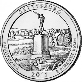 Gettysburg National Military Park Quarter
