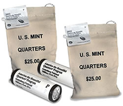 Gettysburg National Military Park Quarter Bags and Rolls