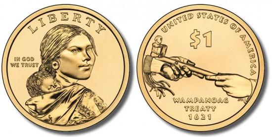 2011 Native American $1 Coin