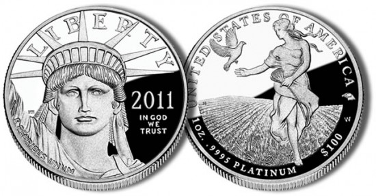 2011 American Eagle Platinum Proof Coin