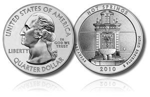 2010-P Hot Springs Silver Coin