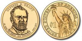 Ulysses S. Grant Presidential $1 Coin