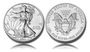 2011 American Eagle Silver Uncirculated Coin