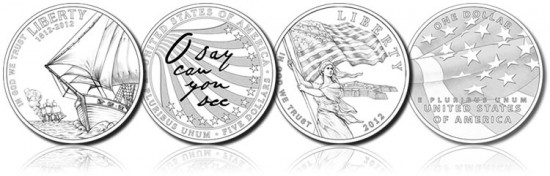 Star Spangled Banner Commemorative Coin Designs