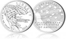 Star Spangled Banner Commemorative Coin Designs - Silver Dollar