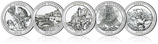 2012 America the Beautiful Quarters