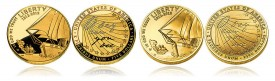 2012 Star-Spangled Banner $5 Gold Commemorative Coins (Proof and Uncirculated)