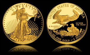 One-Tenth Ounce 2011 Proof American Gold Eagle