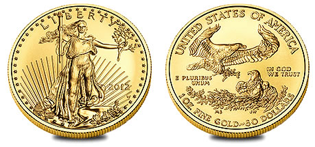 2012-W American Eagle Gold Uncirculated Coin
