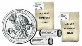 SF Mint El Yunque Quarters in bags and rolls