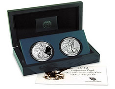 Silver Eagle Two-Coin Set