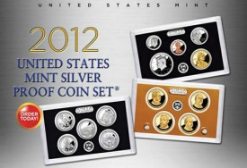 US Mint image of the 2012 Silver Proof Set