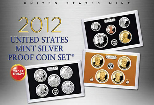 14 Coin Us Mint 2012 Silver Proof Set Debuts Ccn