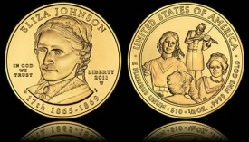Uncirculated Eliza Johnson First Spouse Gold Coin