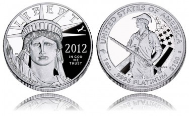 2012-W American Platinum Eagle Proof Coin