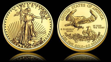22-karat American Eagle Gold Bullion Coin