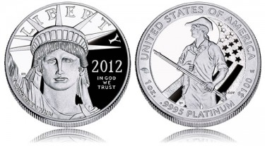 2012 American Platinum Eagle Proof Coin