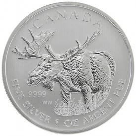 2012 Canadian Moose Silver Bullion Coin