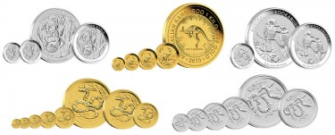 2013 Australian Gold and Silver Bullion Coins