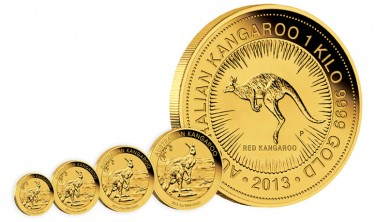 2013 Kangaroo Gold Bullion Coins