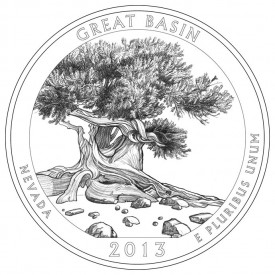 Great Basin National Park Coin Design