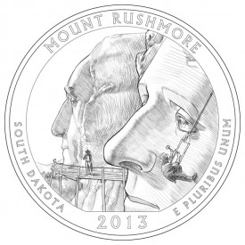 Mount Rushmore National Memorial Coin Design