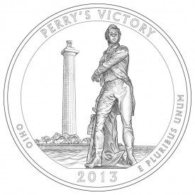Perry's Victory and International Peace Memorial Coin Design