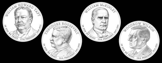 2013 Presidential Dollar Coin Designs