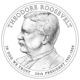 Theodore Roosevelt Presidential $1 Design