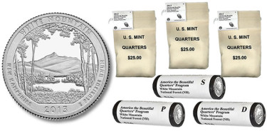 White Mountain Quarter and US Mint Coin Collecting Products