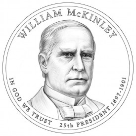 William McKinley Presidential $1 Design