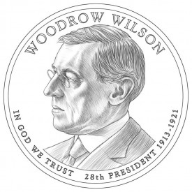 Woodrow Wilson Presidential $1 Design