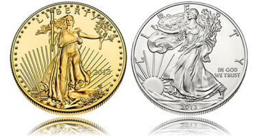 2013 American Eagle Bullion Coins - Gold Eagle and Silver Eagle