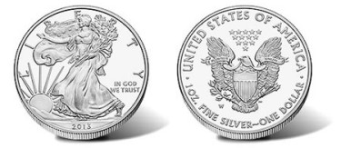2013-W Proof Silver Eagle Coin
