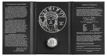 2013 American Platinum Eagle Proof Coin in Presentation Case