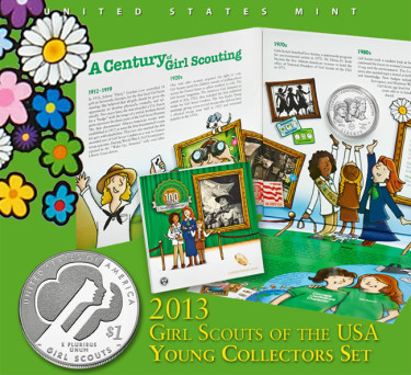 2013 Girl Scouts of the USA Young Collectors Set
