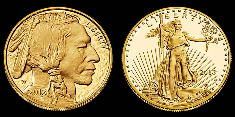 2017 American Bufflalo And Eagle Gold Coins